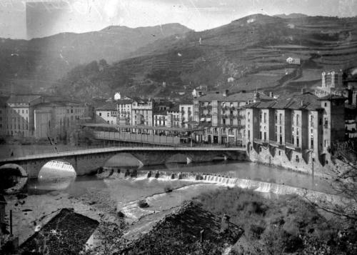 Vista de Tolosa, 1915