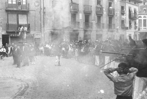 Procesión de San Juan en la Plaza Gorriti, 1935