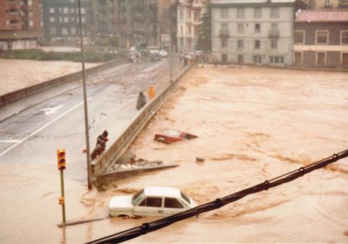 Desbordamiento del río Oria, 1983